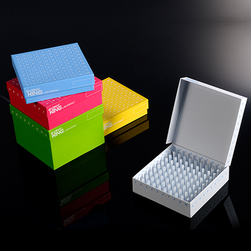 ID-Color™ Cardboard Freezer Boxes