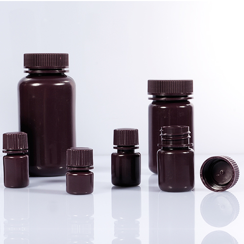Wide-Mouth Bottles-Brown Color
